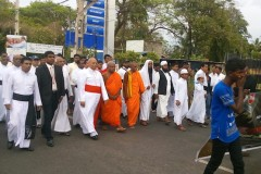 Sri Lankan religious leaders join anti-drug protest