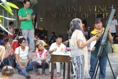 Grieving Filipino mothers tap art in fight for justice