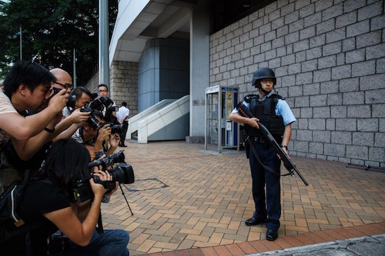 Hong Kong's dwindling media freedom dealt another blow