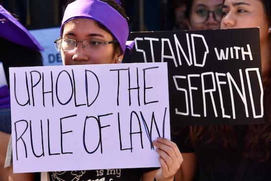 Philippine legislators vote to impeach chief justice