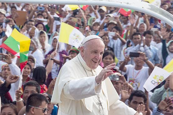 Five years in, Pope Francis delivers on promise of Asia focus