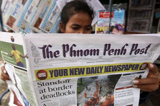 Phnom Penh Post 'facing closure' after huge tax bill