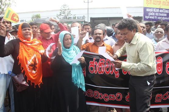 Sri Lankan activists allege political involvement in riots