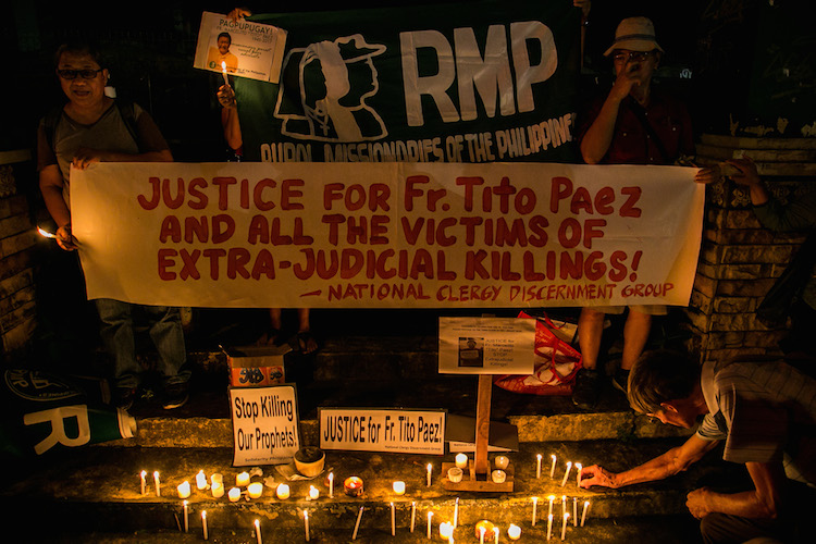 Slain Filipino priest named 'modern Christian martyr'