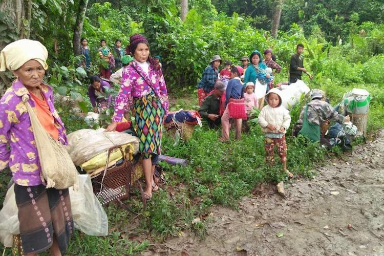 Concern grows for displaced Kachins trapped in jungle