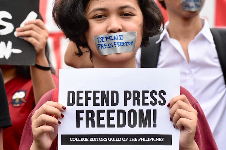 Threats of violence against journalists continue to rise in Asia