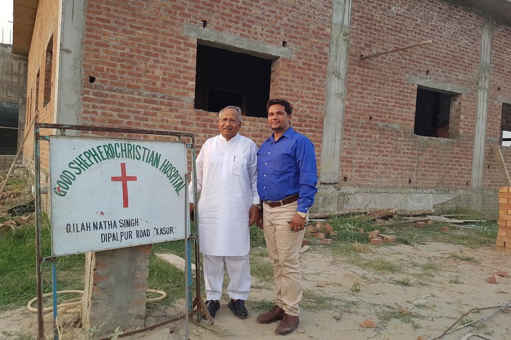 Pakistani evangelist embraces sick of all faiths