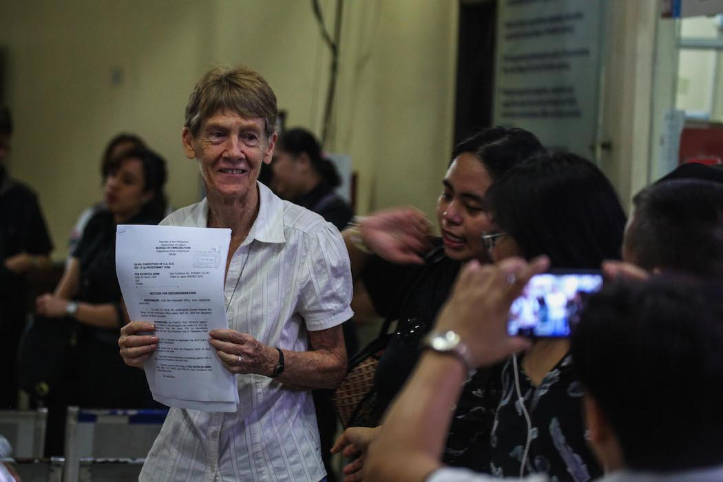 Australian nun defies Philippine order to leave