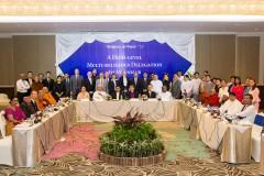 Interfaith leaders pledge to back Myanmar peace efforts