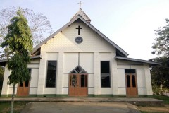 Catholic church attacked in Myanmar's conflict-torn Kachin