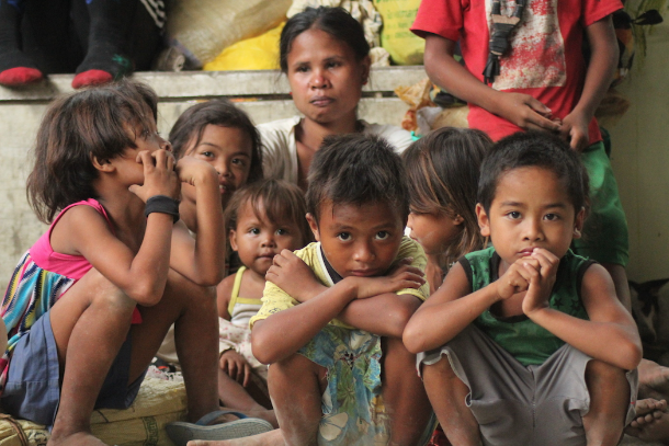 Displaced people fall sick in Mindanao evacuation center