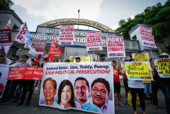 Manhunt for leftists alarms Philippine church leaders