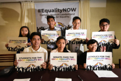 Catholic student councils back Philippine gay rights bill