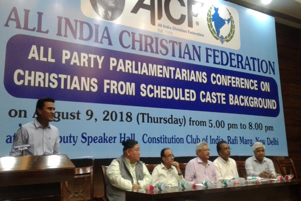 Indian parliamentarians pledge support for Dalit cause