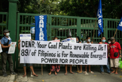 Philippine green groups stage 'action week' against coal