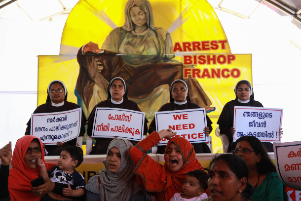Nuns' historic protest challenges India's patriarchy