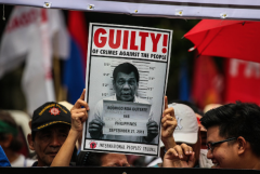 Court finds Duterte guilty of rights violations