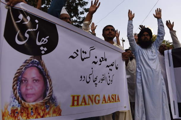 Pakistani Islamists issue warning over Asia Bibi