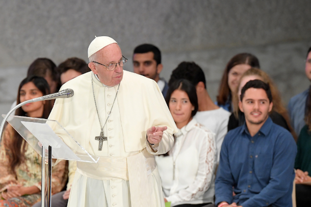 Christians must put beatitudes into practice, pope says