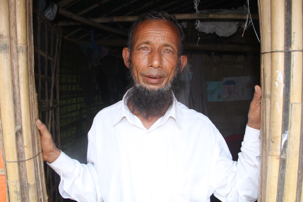 Rohingya leaders help lead the way in Bangladesh refugee camps