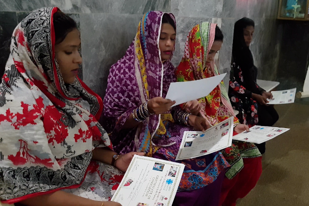 A Caritas lifeline for minority women in Pakistan