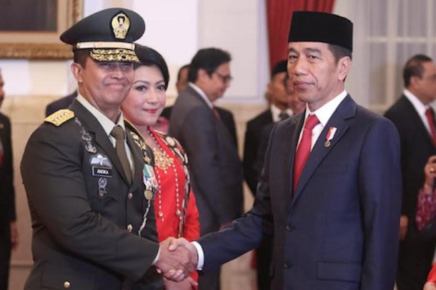 Indonesian activists attack Widodo over new army chief pick