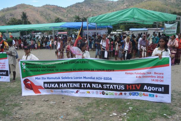 Timor-Leste nun bemoans lack of effort in HIV fight