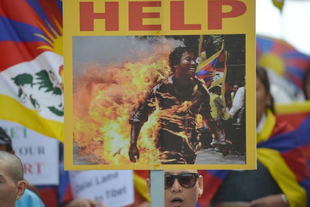 Tibet on fire amid campaign of suffocation