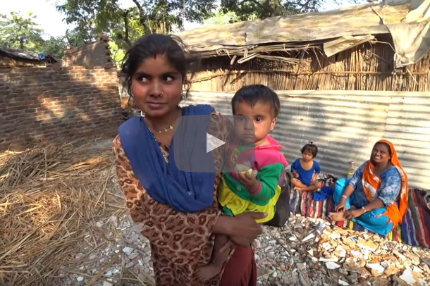 Pakistani Hindu refugees living in poor conditions in India