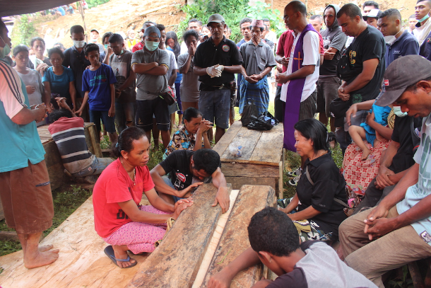 Landslide kills 8 from same family on Indonesian island