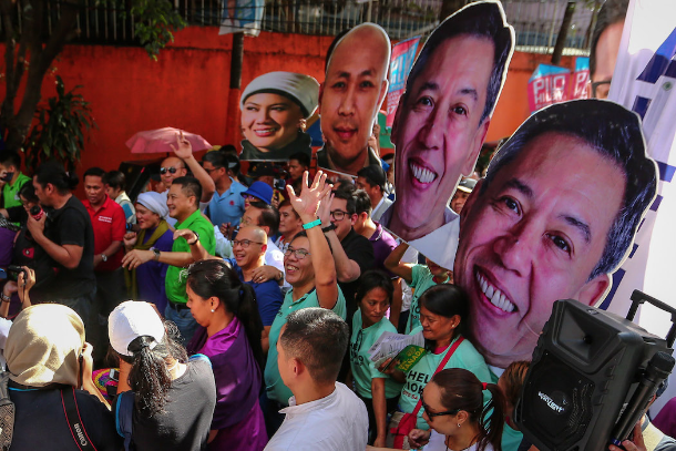 Priests back opposition candidates in Philippine election