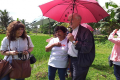 Church charity steps in to aid disaster-hit Filipino farmers