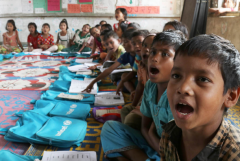 Rohingya children's school dreams hit stony ground