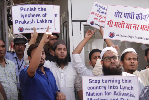 Christians, Muslims protest over Indian cow vigilantes