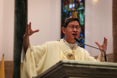 Tagle warns youths against 'fake news,' gadget addiction