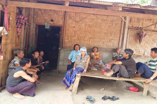 Myanmar nun gives spiritual support to former drug addicts