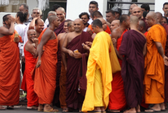 Sri Lanka releases hard-line Buddhist monk from jail