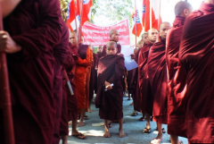 Anti-Muslim monk faces sedition charge in Myanmar