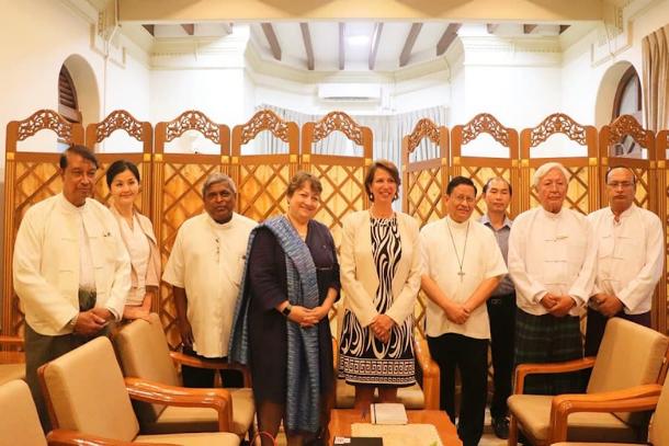 UN envoy meets Myanmar interfaith leaders