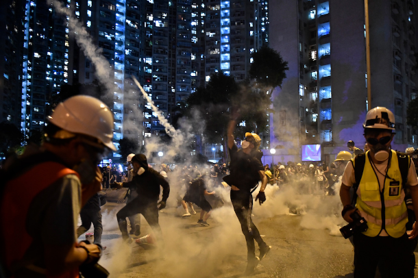 Hong Kong's future is what's on everyone's mind
