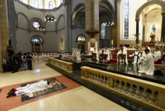 An altar boy and a priest on leave become bishops