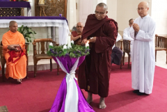 The monk fighting a tide of hatred in Myanmar