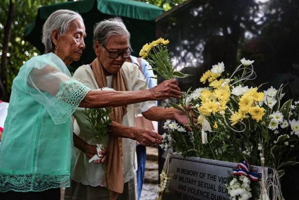 Marker in honor of Filipino 'comfort women' unveiled