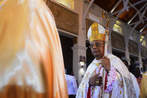 Sri Lankan cardinal upset to be dragged into politics