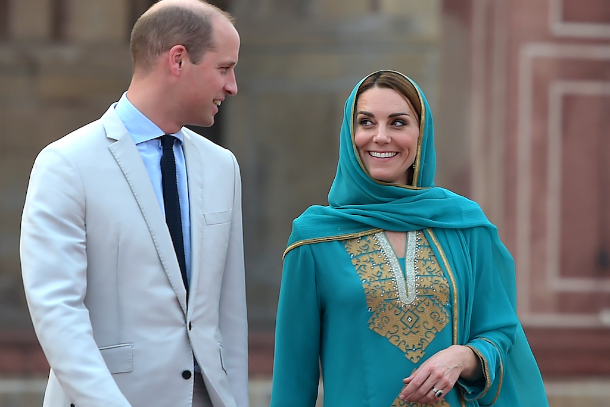 Christians 'snubbed' on British royal tour to Pakistan