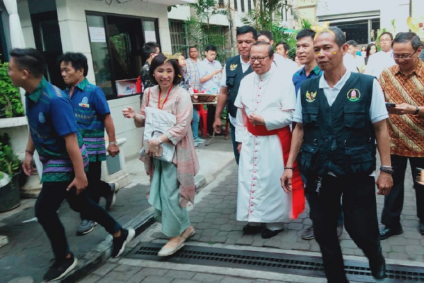 New cardinal shares pope's wish for Indonesian Church