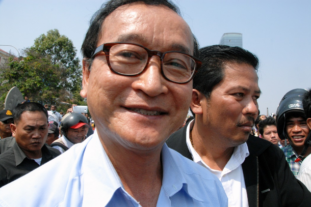 Sam Rainsy stakes credibility on an unlikely return