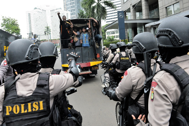 Indonesian policemen face sexual harassment probe