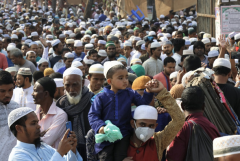 Muslims gather for peace, tolerance and solidarity in Bangladesh