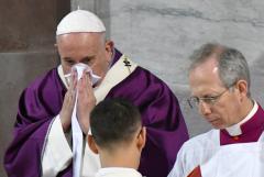 Pope Francis falls ill in virus-stricken Italy